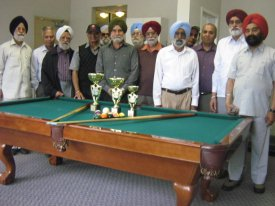 Billiards and Seep Tournament 2011